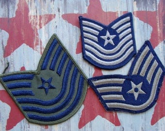 Vintage United States Military War Patches Lot