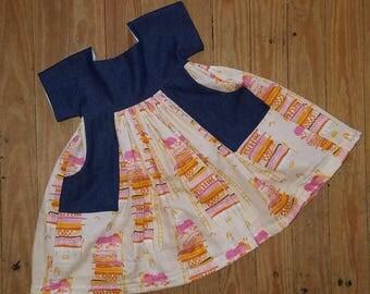 Princess and the Pea pocket dress