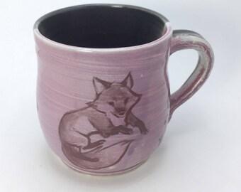 Purple Fox Mug