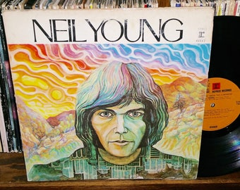Neil Young Vintage Vinyl Self Titled Debut Record