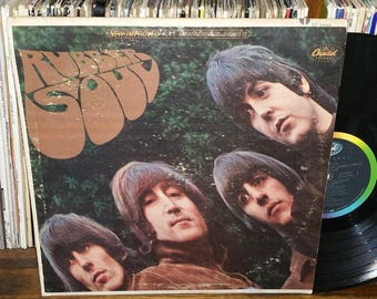 The Beatles Rubber Soul Vintage Vinyl Record