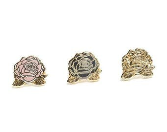 Nasty Rose Enamel Earrings