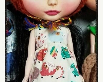 ON SALE now custom blythe doll