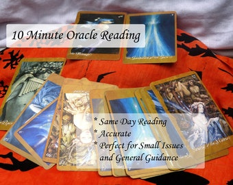 Same Day - 10 Minute Oracle Reading -