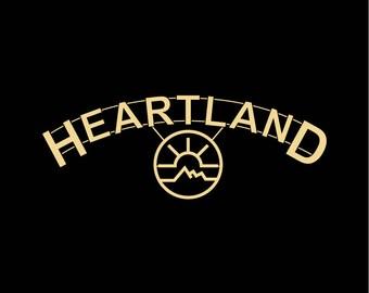 HEARTLAND RANCH Amber Marshall Graham Wardle hooded sweatshirt hoodie BLACK