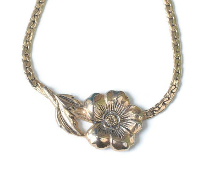 Sarah Coventry Spring Posie Flower Design Necklace