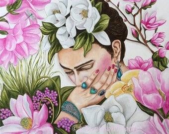 Frida Kahlo Painting, Frida Kahlo, Frida Kahlo Art, Frida, Frida Kahlo Birthday