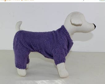 50% OFF SALE madmonkeyknits - Small Dog Onesie knitting pattern pdf download - Instant Digital File pdf knitting pattern
