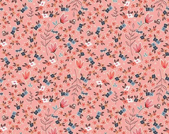 Charleston Collection, Garden of Dreams in Rose, Art Gallery Fabric Choose your cut