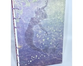 Dot Grid Coptic Bound Journal Heavyweight Paper with Decorated Cover