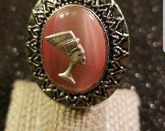 Queen Nefertiti Statement fashion Ring