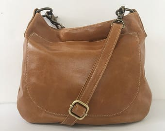 UKSANA - Leather Bag - Leather Hobo Bag - Aged Rattan Leather Crossbody - Boho Chic - Boho Bag - Womens Purse - Crossbody - More Colors