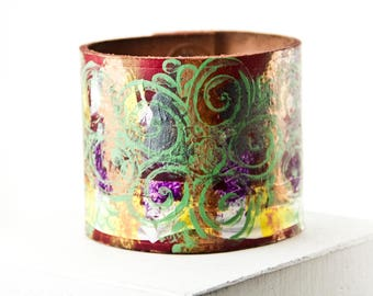 Christmas Holiday  Leather Jewelry Cuff Bracelets For Women Leather Wrist Cuffs