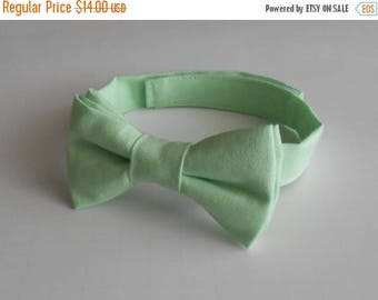 SALE Mint Bowtie - Infant, Toddler, Boy                                  2 weeks before shipping