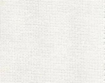 DMC 25 count  Evenweave BLANC , 74 x 50 cm , cross stitch fabric, DMC fabric , evenweave sewing fabric, white 25 count