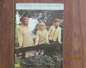 The Bernat Book of Irish Knits Book 145
