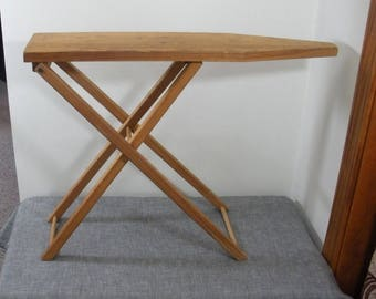 Vintage Childs Wood Ironing Board