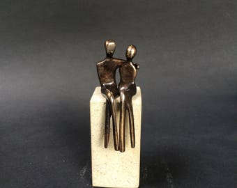 Petite Bronze Lovers for Laura