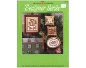 1987 Christmas Cross Stitch , Prairie Schooler Christmas Cross Stitch, Vintage Cross Stitch, Craft Books by NewYorkTreasures on Etsy