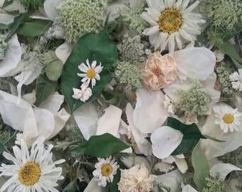 Dry Flowers, Wedding Confetti, Real Flowers,Petals, Dry Rose Petals, Wedding, Lavender, Flower Girl, Decor, Aisle, 32 Boxes