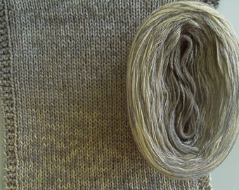 STEEL SILK Medley II - Color Changing Cotton/Silk yarn - 320 yards/100 gr - Sport Weight