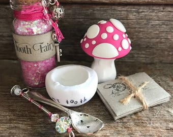 Tooth Fairy Kit - Poppy Pink