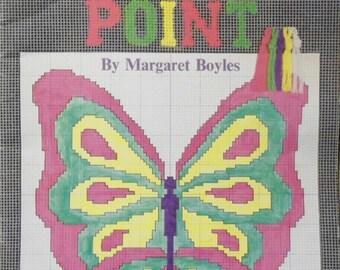 Vintage Beginner's Needlepoint Columbia Minerva Book #207