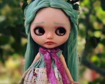 SALE!!!! Lola Blackbird-OOAK Blythe Doll