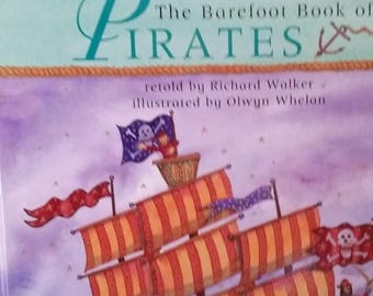 Pirates--Barefoot Book of Pirates--Beautifully Illustated--40-70% off Book SALE