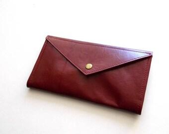 OnSALE Red Envelope  wallet , leather  women wallet , women purse