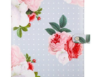 Color Crush Gray Floral Composition Planner (IN STOCK) Free Washi Tape with this order (CP001-GF)