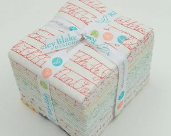 Fat Quarter Bundle - Bee Backgrounds by Lori Holt Bee in my Bonnet - Riley Blake Designs In Stock!
