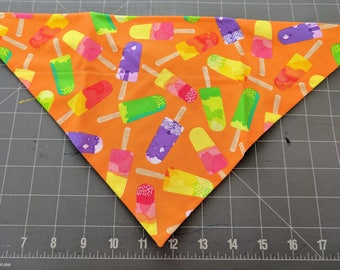 Dog Bandana, Summer, Popsicle, Vacation, Beach, neckerchief, scarf