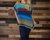 Crochet poncho pattern -  Stearns Poncho, crochet poncho pattern, easy poncho, womens poncho pattern