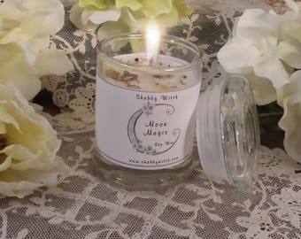3.oz Votive Moon Magic Jar Candle, Altar Candle, Ritual Candle