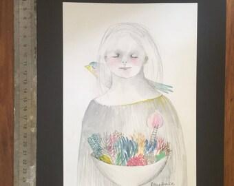 Original drawing  'Abundance'