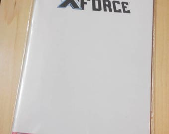 Uncanny XForce blank cover comic by boo rudetoons comicbook marvel drawing cartoon cosplay wolverine Xmen HarleyQuinn deadpool