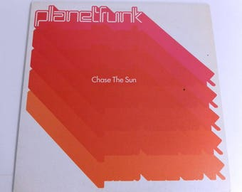 """Planet Funk Chase the Sun - Spain -Vintage Record 12"""" Single 33rpm"""