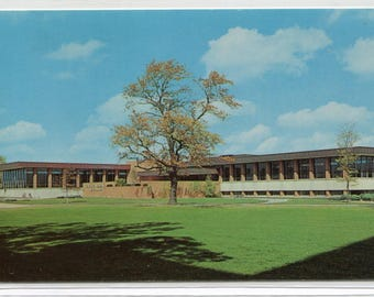 Moellering Library Valparaiso University East Campus Indiana postcard