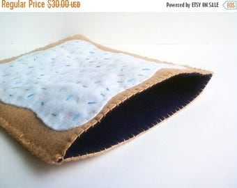 FLASH SALE Blueberry Poptart iPad cover, cozy or case