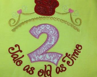 Princess Beauty Birthday Shirt