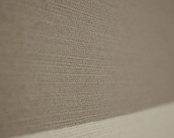 Grey Ivory Wide Stripe Upholstery Fabric