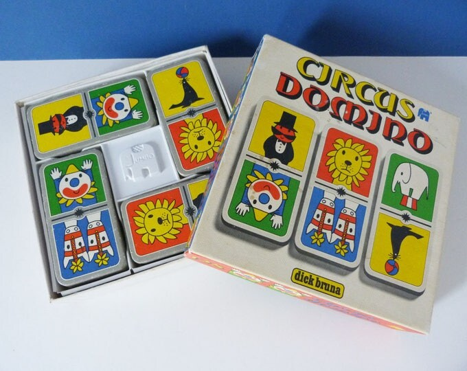 Vintage Dick Bruna Circus Domino's