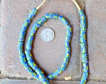 Krobo Beads: 9x15mm
