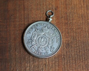 French Empire Coin Pendant