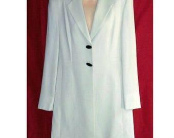 Cream Ivory Wool Suit - Georgiou Studio - Mother-of-the-Bride