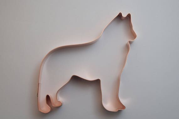Siberian Husky Dog Breed Cookie Cutter Handcrafted By
