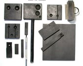 Glass Working Graphite Molds and Blocks, glass shaping tools  DESTASH USED ITEMS!