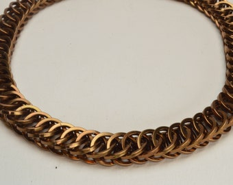 Bronze Persian Chainmaille Choker