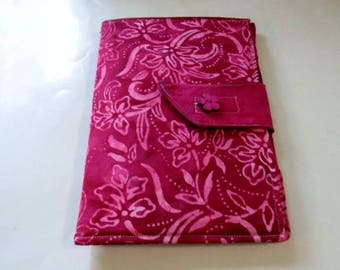 Raspberry Batik Mini iPad/Nook Color Cover